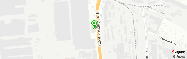 Тойота Автомир-Новосибирск — схема проезда на карте
