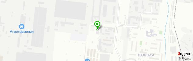 СТО ДИЗЕЛЬ-ТС — схема проезда на карте