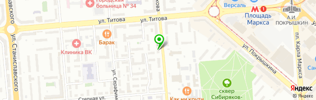 Группа компаний Лудус — схема проезда на карте