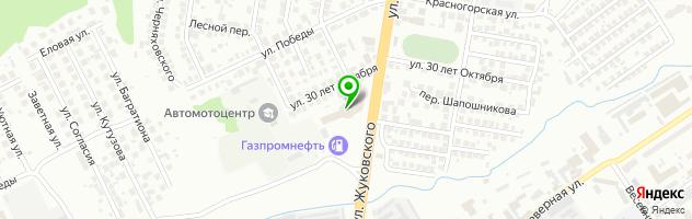 """ООО """"АвтоЕвроКар"""" — схема проезда на карте"""