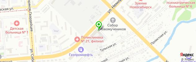 СТО Механик — схема проезда на карте