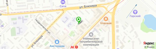 Региональный Медико-Диагностический Центр на проспекте Карла Маркса — схема проезда на карте
