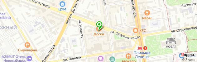 Абсолют — схема проезда на карте
