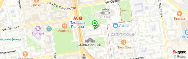 Интернет-магазин оптики Vision Express — схема проезда на карте