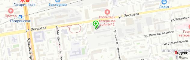 Компания по установке, ремонту и замене автостекол Альфа-Стекло — схема проезда на карте
