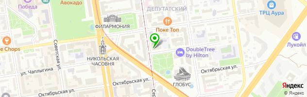 Кафе-бар Якитория — схема проезда на карте