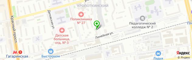 Центр КРУГОЗОР — схема проезда на карте