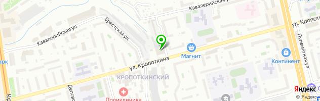 VIP-Service Специализированный автоцентр обслуживания, тюнинга и продаж автомобилей любых марок — схема проезда на карте