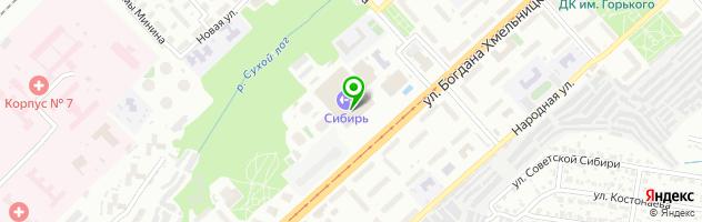 Школа инструкторов аэробики Варвары Медведевой — схема проезда на карте