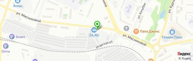 Автосервис АвтоДилер — схема проезда на карте