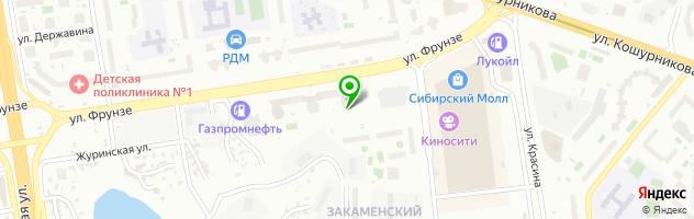 Многопрофильный медицинский центр НЕО — схема проезда на карте