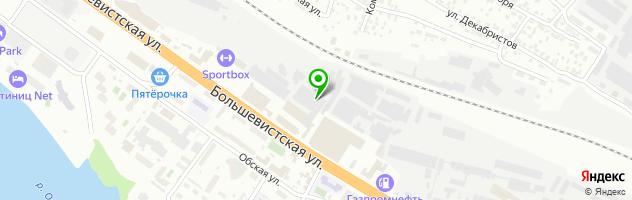 АВТОКОМПЛЕКС ХОНДА-САН — схема проезда на карте