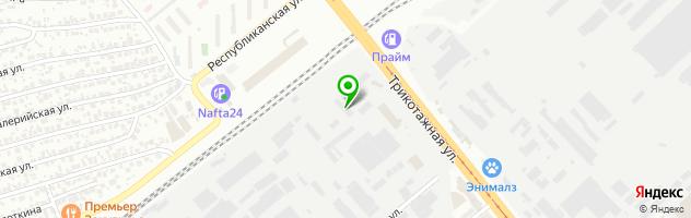 Shaker autoservice — схема проезда на карте