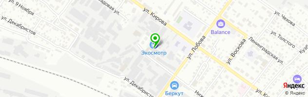Специализированный автосервис Subaru.nsk.ru — схема проезда на карте