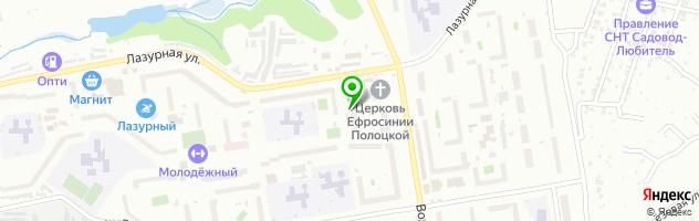 Ателье Красные маки — схема проезда на карте
