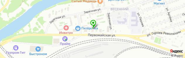 Салон красоты Василиса — схема проезда на карте
