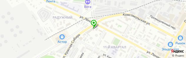 СТО S-Dizel — схема проезда на карте