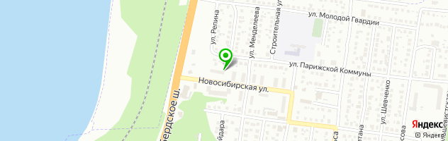 Фотосалон У Пушкина — схема проезда на карте