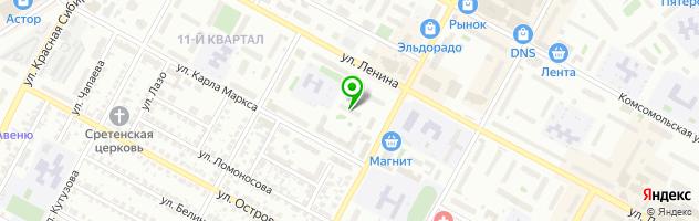 Салон красоты Юла — схема проезда на карте