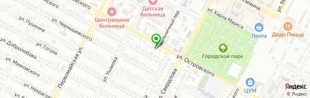 Центр врачебной косметологии Венеция — схема проезда на карте