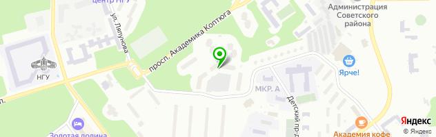 Ателье Людмила — схема проезда на карте