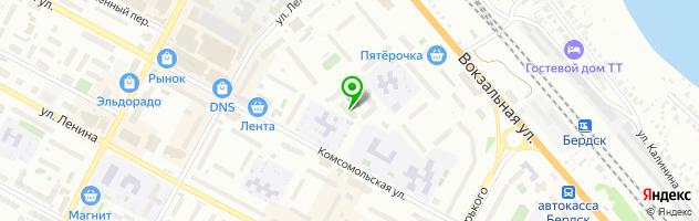 Детский оздоровительный центр Воробушек — схема проезда на карте