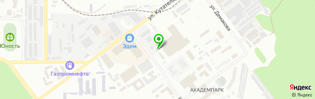 СТО Академия Автосервиса — схема проезда на карте