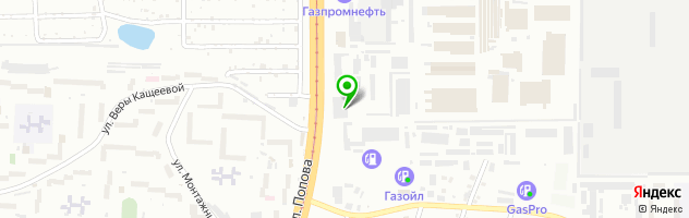 Подкова — схема проезда на карте