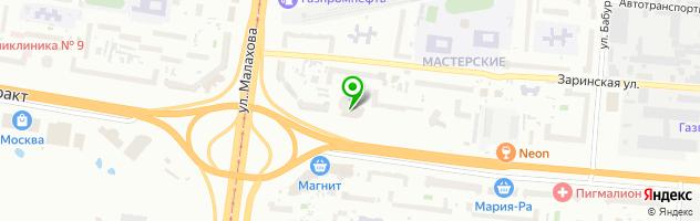 Центр современной стоматологии — схема проезда на карте