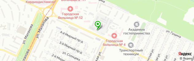 Алтайский медицинский центр — схема проезда на карте