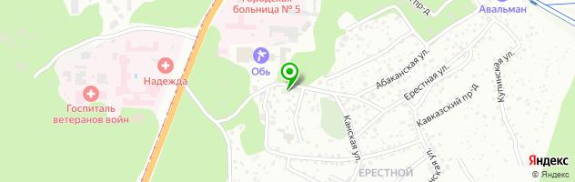 Гостиный дом Прага — схема проезда на карте