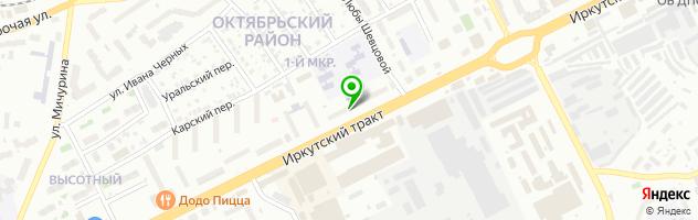 Библиотека Северная — схема проезда на карте