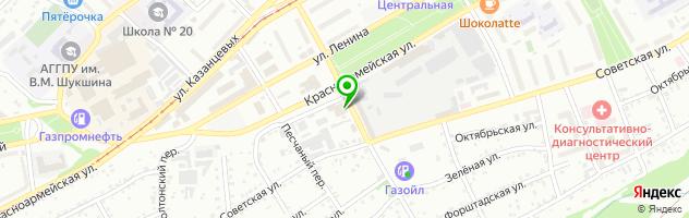 Многопрофильная компания Норд Сервис — схема проезда на карте