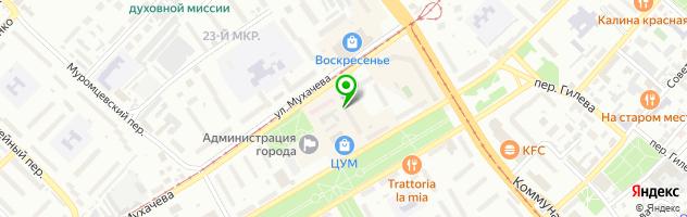 Салон цветов ИЮЛиЯ — схема проезда на карте