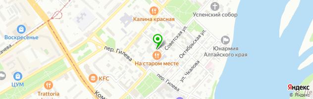 Ресторанно-гостиничный комплекс На Старом Месте — схема проезда на карте