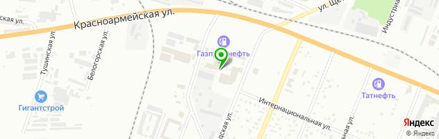 Торгово-производственная компания СтеклоСервис — схема проезда на карте
