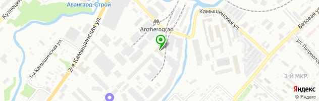 Новосибирская сырьевая компания НСК — схема проезда на карте