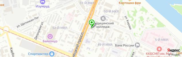 Центр дополнительного и профессионального образования Эккон — схема проезда на карте