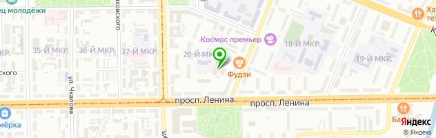 Медицинский центр Медснаб — схема проезда на карте