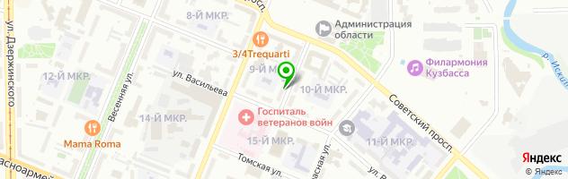 Косметологическая лечебница на Коломейцева — схема проезда на карте