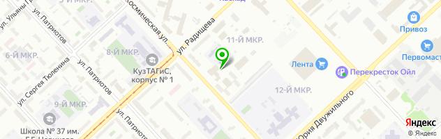 Караоке-клуб Академия — схема проезда на карте