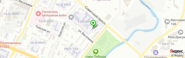Академия Профессионального Обучения ЧОУ ДО — схема проезда на карте
