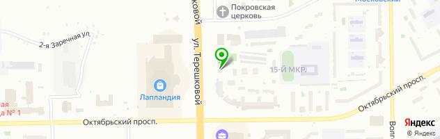 Центр медицинских осмотров Медпроф — схема проезда на карте
