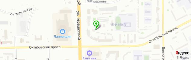 Медицинский центр Жемчужина — схема проезда на карте
