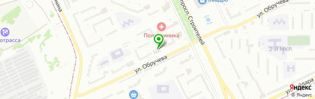 Учебно-деловой центр — схема проезда на карте