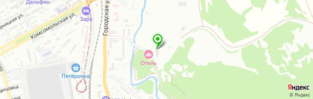 ЮжКузбассметалл — схема проезда на карте