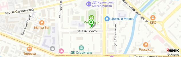 Парикмахерская Елена — схема проезда на карте
