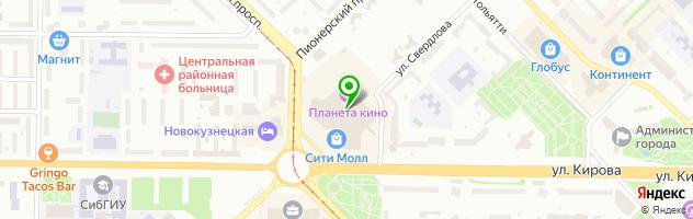 Химчистка ЛАСКА — схема проезда на карте