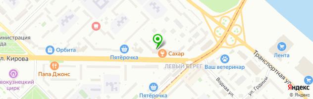 Ателье-магазин Рукодельница — схема проезда на карте