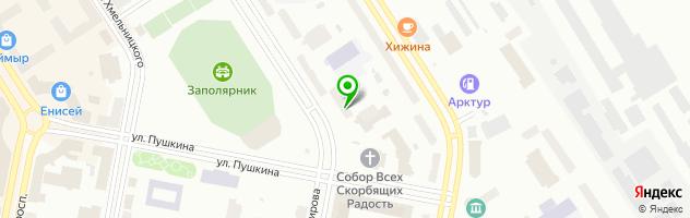 Медицинский офис Инвитро — схема проезда на карте